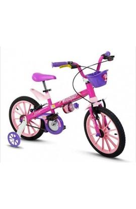 Bicicleta Infantil Aro16 Nathor Top Girls