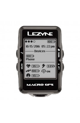 GPS para Ciclismo Lezyne Macro - V104