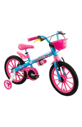Bicicleta Infantil Aro16 Nathor Candy